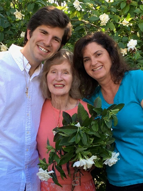 Mothers Day with Grandma